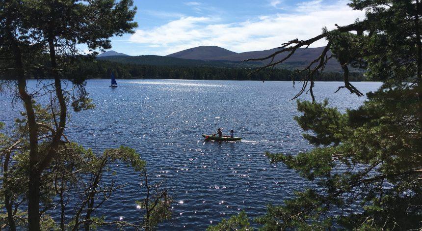 Kayaking in Speyside